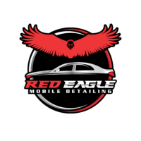 red eagle mobile auto detailing logo